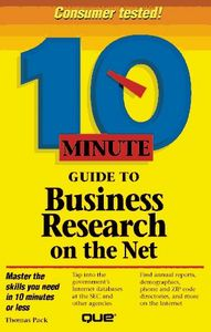 10 minute guide business research net