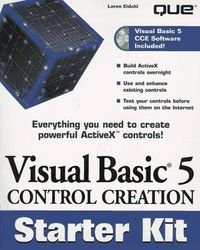 Visual basic 5 control creation starte