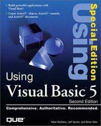 Using visual basic 5 2 ed special edit