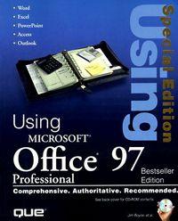 Using microsoft office 97 professional