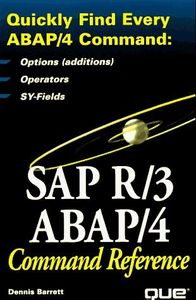 Sap r/3 abap/4 command reference