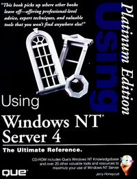 Using windows nt server 4 platinum edi