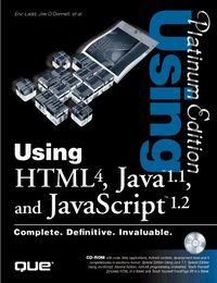 Using html 4 java 1.1 javascript 1.2 p