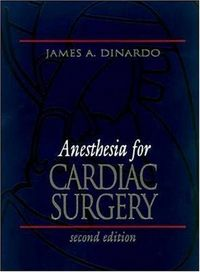 Anesthesia cardiac surgery 2 ed
