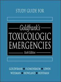 S.g.goldfranks toxicologic emergenc.6/