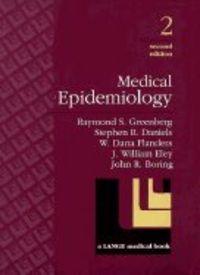 Medical epidemiology 2 ed