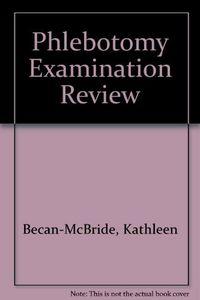 Phlebotomy examination review 3ª.ed.