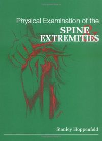 Physical examination spine extremities