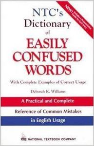 Dict easily confused words