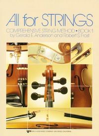 Contrabajo all for strings book 1