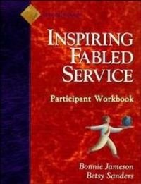 Inspiring fabled service participant w