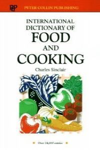 Dict.international food cooking