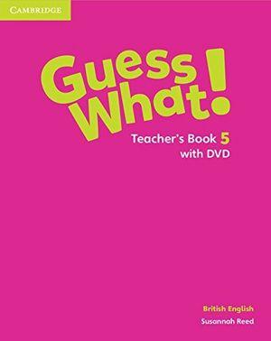 Guess what 5ºep teachers with dvd
