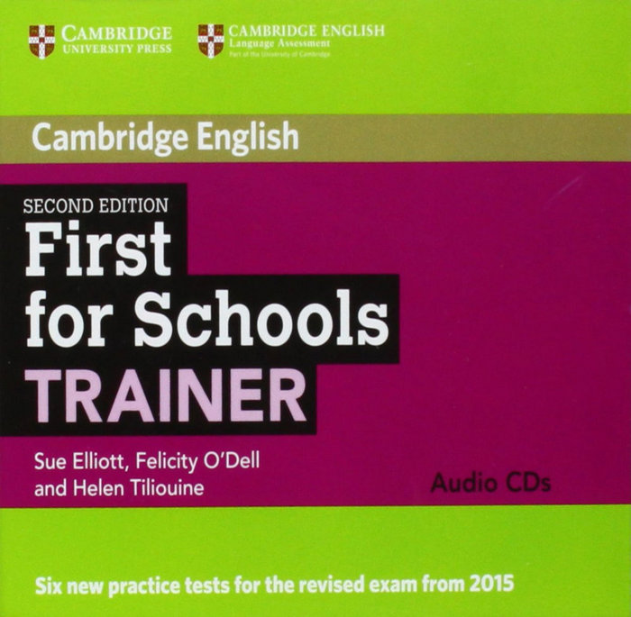 First for schools trainer audio cds (3) 2nd edition