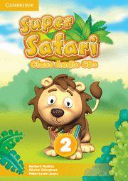 Super safari level 2 class audio cds (2)