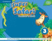 Super safari 3ºep teachers book