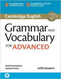 Grammar vocabulary advanced                       cam