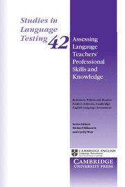 Assessing language teachers' professional skills and knowled