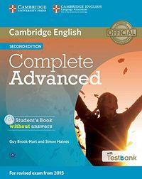 Complete cae sb+cd rom-testbank 2ªed