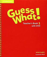 Guess what 1ºep teacher with dvd               camcamin11ep