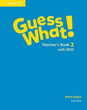 Guess what 2ºep teachers with dvd