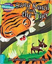 Sang kancil and the tiger