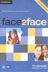 Face 2 face pre-intermed.wb+key 13 b1 2ªed