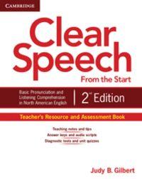Clear speech from the start teacher's resource and assessmen