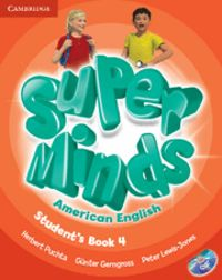 Super minds american english level 4 student's book with dvd