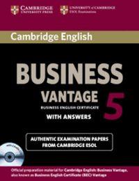 Cambridge english business 5 vantage self-study pack (studen