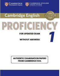 Cambridge proficien.for updated exam 1 st without answers