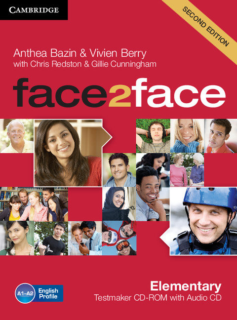 Face2face elementary testmaker cd-rom and audio cd 2nd editi