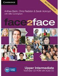 Face 2 face upper intermediate cd b2 testmaker ne