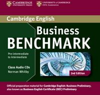 Business benchmark pre-inter to interm audio cd