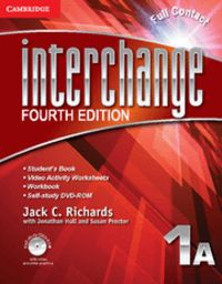 Interchange level 1 full contact a with self-study dvd-rom 4