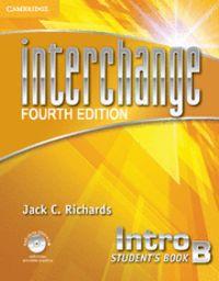 Interchange intro student's book b with self-study dvd-rom 4