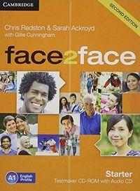 Face 2 face starter test maker generator cd rom (2 ed.)