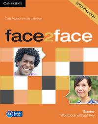 Face 2 face starter wb 13