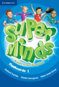 Super minds american english level 1 flashcards (pack of 103