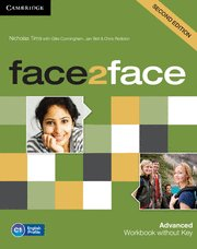 Face2face advanced workbook without key 2nd editio