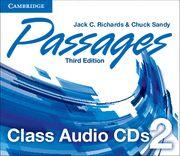 Passages level 2 class audio cds (3) 3rd edition
