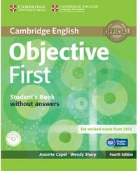 Objective first st. without answers internacional
