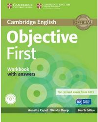 Objective first from exam 2015 workbook with answers + cd