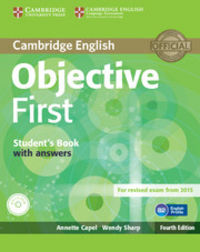 Objective first student's pack (student's book without answe