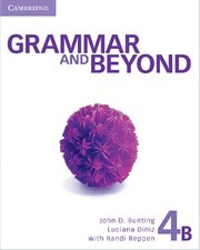 Grammar and beyond. student's book b, online workbook and wr