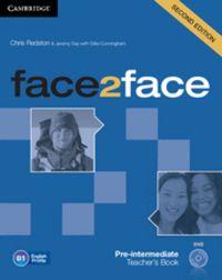 Face2face pre-intermediate teacher's book with dvd 2nd editi