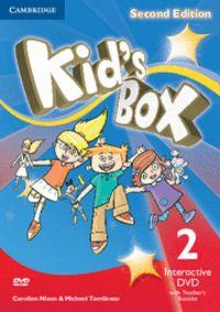 Kid's box level 2 interactive dvd (ntsc) with teac