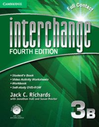 Interchange level 3 full contact b with self-study dvd-rom 4