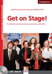 Get on stage! teacher's book with dvd and audio cd