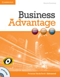 Business advantage advanced personal study book with audio c